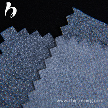 China for China Interfacing Interlining,Interlining Fabric With Pes Glue ,Pes Dot Fabric Glue Interlining Manufacturer PES coating double dots fusible paper interlining fabric supply to Nicaragua Factories