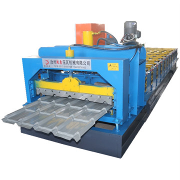 Factory making low price glazed tile forming machines