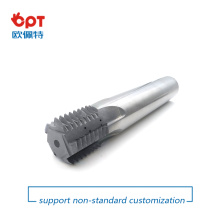 PCD thread milling cutter for CNC machined