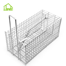 Professional factory selling for Small Cage Trap,Metal Rat Trap Cage,Humane Small Animal Traps,Outdoor Mouse Traps Manufacturers and Suppliers in China Best Metal Rat Catcher  Trap Cage supply to St. Pierre and Miquelon Factory