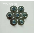 M10 Circular base No holes Tee nuts