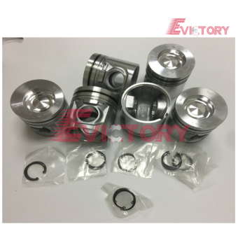 Excavator parts D12D piston connecting rod crankshaft