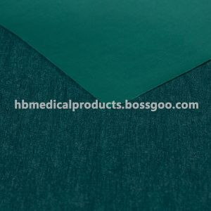 China supplier OEM for Absorbent Fabric Surgical Gown Three Layer PP nonwoven Lamination supply to Equatorial Guinea Wholesale