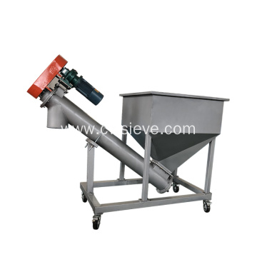 Conveyor Elevating Screw Feed Conveyor Industrial Carbon