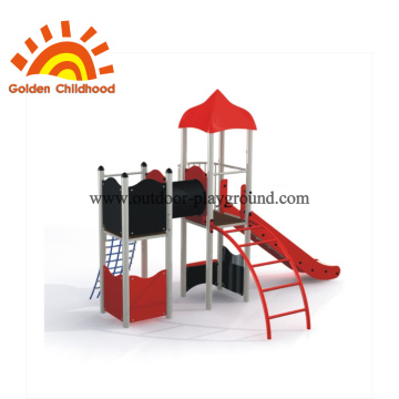 simple outdoor play structure for schools