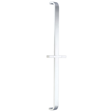 Flat Square Whit Arc Shower Rail