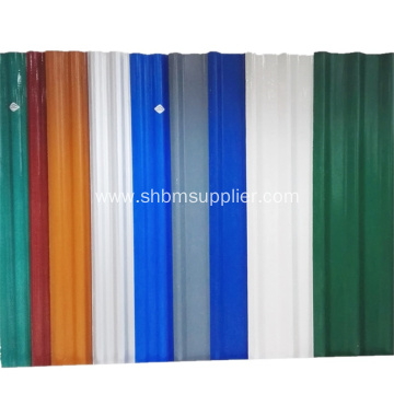 Waterproof Glazed Magnesium Oxide Roof Panels