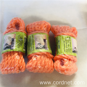 PE/PP 3 Strands Twist Rope Of Floor Price