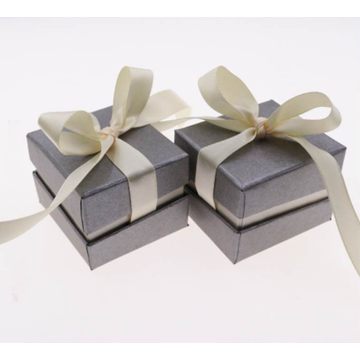 Custom Paper Box Ribbon Bowknot Box for Jewelry