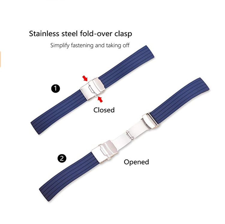 adjusted watch bands
