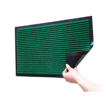 PP double stripe pattern mat for entrance
