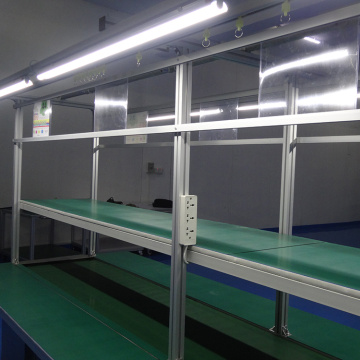Customized Size Stainless Steel Frame Conveyor Belt Machine