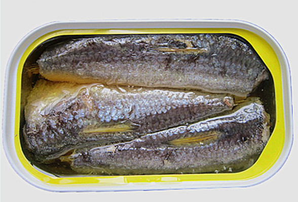 155G Canned Sardines of EU Quality