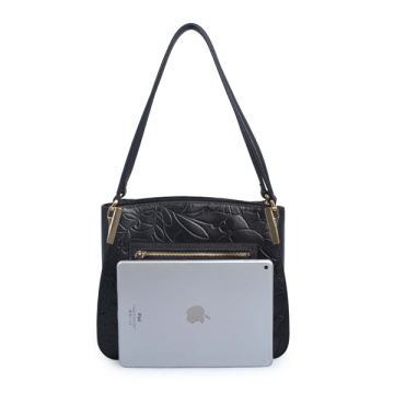 Top Handles Bag Modern Ciry Work Bag Black