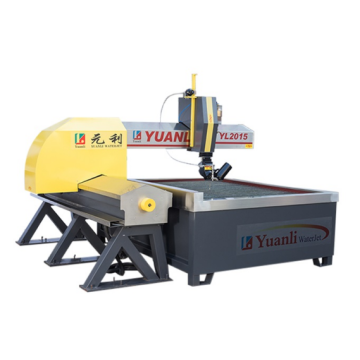 3 Axis cnc abrasive water jet cutting machine
