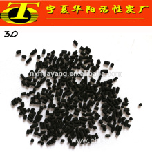 Coal bulk density 0.5g/cm3 activated carbon 3mm pellet