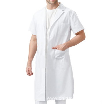 High quality medical white lab coat designs