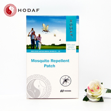Long effective anti mosquito patch