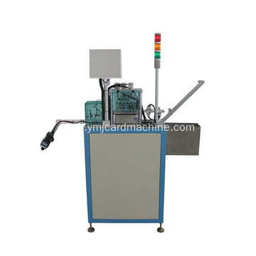 Smart Card Chip Detection and IC Punching Machine