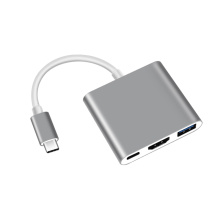 Type-C HUB TO HDMI(4K)+PD+USB3.0