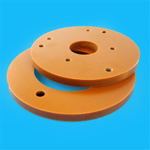10 mm  thickness orange bakelite sheet Processing Part