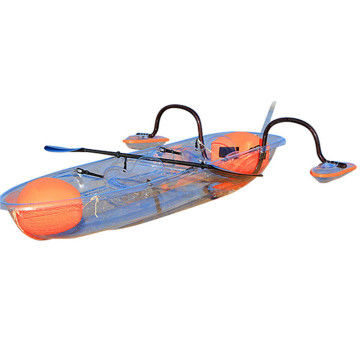 3 Seat Kayak Blue Ocean Glass Bottom Canoe