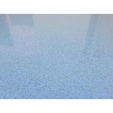 Solvent-free epoxy color sand self-flowing flat paint