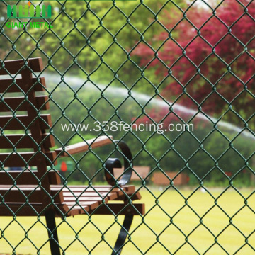Fencing PVC Coating Chain Link Fence For Sale