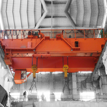 Mobile Double Trolley Electric Overhead Traveling Crane