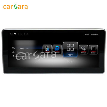 Interface multimídia para carro Android Quad Core para Mercedes C