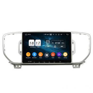 Sportage 2016 car multimedia sistema Android 9.0