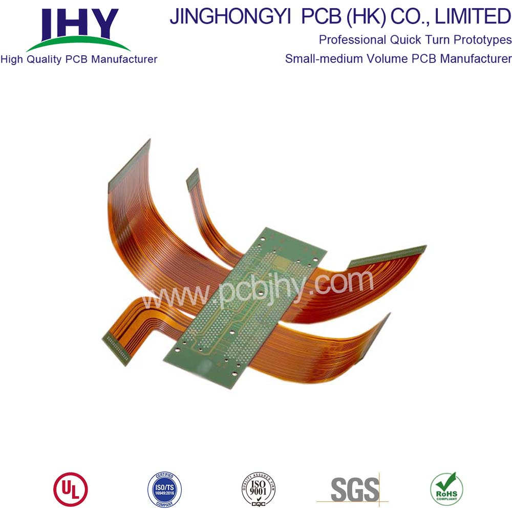 4 Layer Rigid Flex PCB China Manufacturer