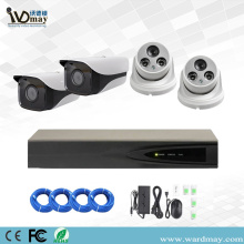 4CH 3MP Starlight IP Cameras Poe System