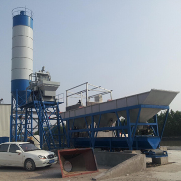 HZS40 Very popular mini concrete batching plant