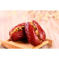 Healthy natural walnut with red date