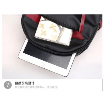 New nylon backpack women bag personality