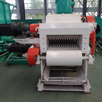 Drum Wood Chipper Design with Magnet