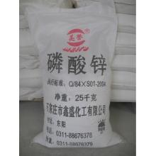 Superfine level zinc phosphate