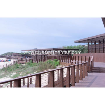 Large Span Glulam Residential Vacation House Glulam Homes