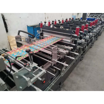 zipper stand up bag making machine