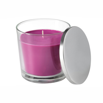 Scented Luxury Glass Jar Candle with Lid