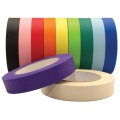 Colored high temperature solder wave masking tape