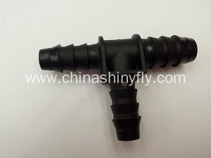 Reducing T type tee Rubber Connector