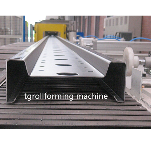 Hot Dip Galvanized M purlin machine