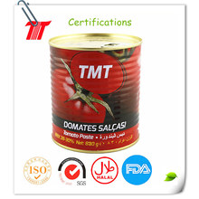 OEM Supply for Canned Organic Tomato Paste 830g tomato paste salsa brand tomato paste export to Indonesia Factories