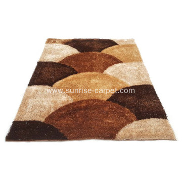 Polyester 1200D Silk Shaggy with Design