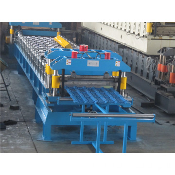 950 Aluminum Step Tile Roof Cladding Sheet Roll Forming Machine