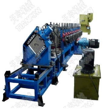 Steel Elevator Guide Rail Roll Forming Machine
