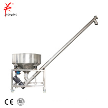 Cement powder auger screw conveyor machine