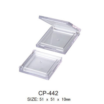 Square Clear Cosmetic Compact Case